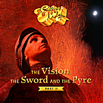 ELOY - THE VISION, THE SWORD AND THE PYRE (Part II) - Signature Fan-Set & T-Shirt (schwarz)